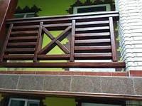 Деревянное ограждение декоративное LNK