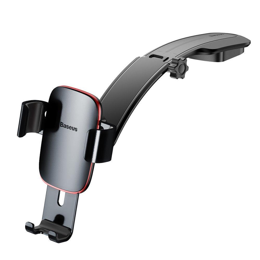 Гравитационный держатель телефона в автомобиль BASEUS Metal Age Gravity Car MountBlack (SUYL-F01)