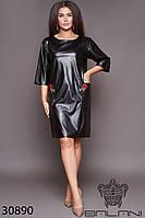 Платье элегантное батальное  -30890 с 48 по 62  размер (бн)
