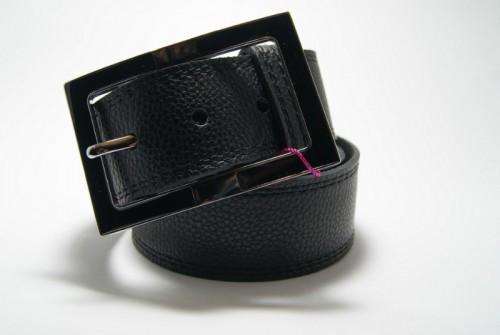 Ремень женский кожаный (Черный) Andi