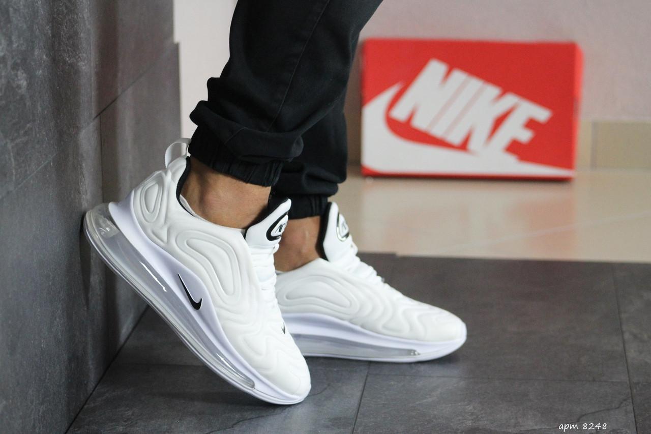 Мужские кроссовки Nike air max 720,белые