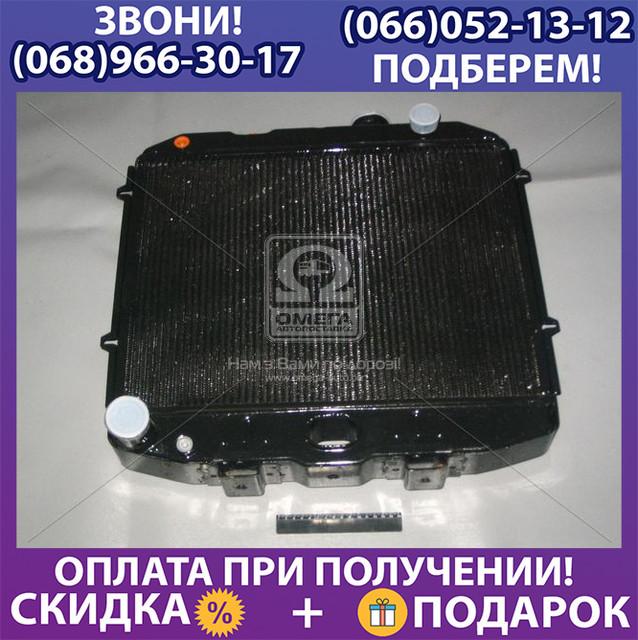 Радиатор водяного охлаждения УАЗ (3-х рядный) двигателяЗМЗ-514 с отверстием под датчик (пр-во ШААЗ) (арт. 3160-1301010-10)