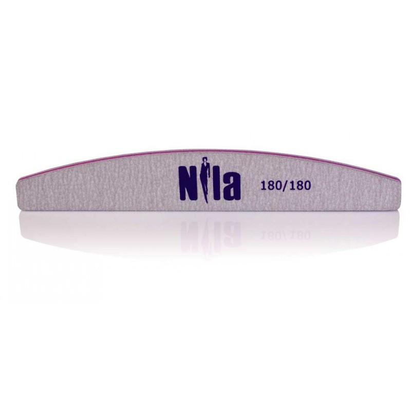 Nila Пилочка для ногтей серая Half 180/180