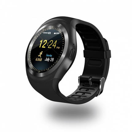 Умные Смарт-часы Smart Watch Y1 Black, фото 2