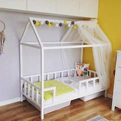 Кровати детские домики
