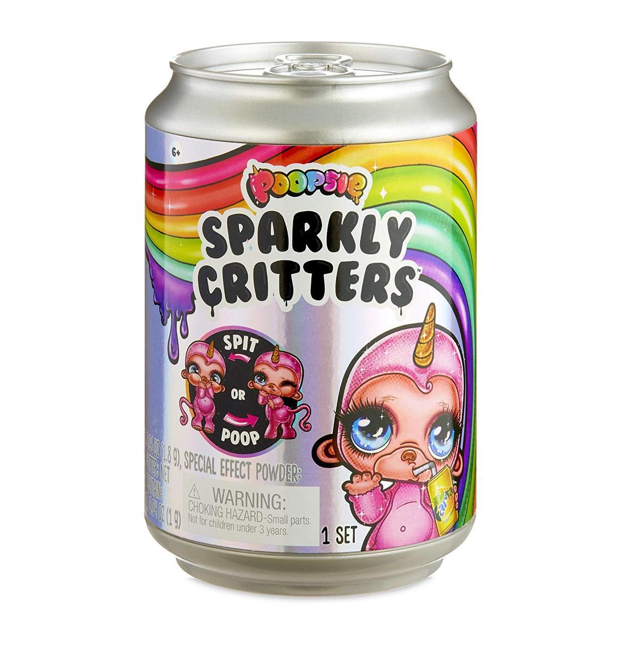 Игровой набор Poopsie Волшебный Питомец с сюрпризом слайм в банке Poopsie Sparkly Critters That Magically