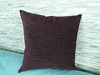 Подушка декоративная 40х40 баклажан