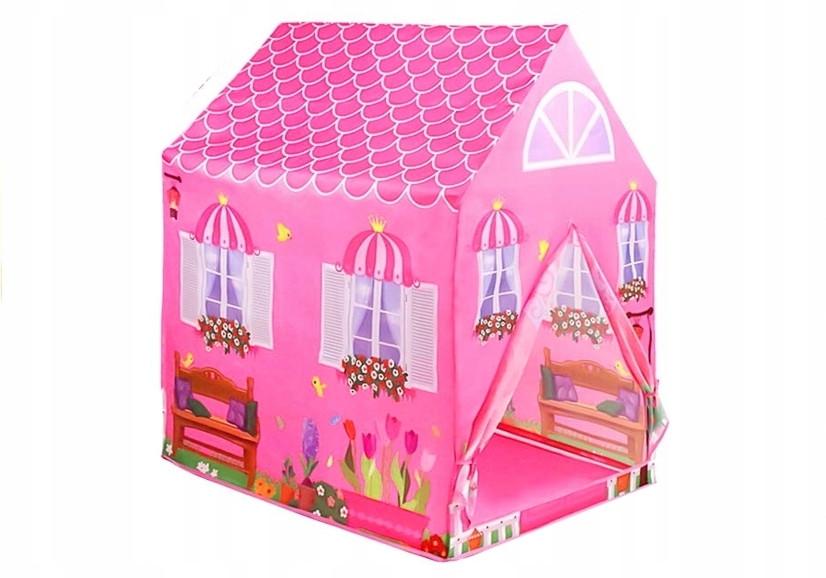 Детская палатка LEAN Toys Домик Принцессы 995-7070B