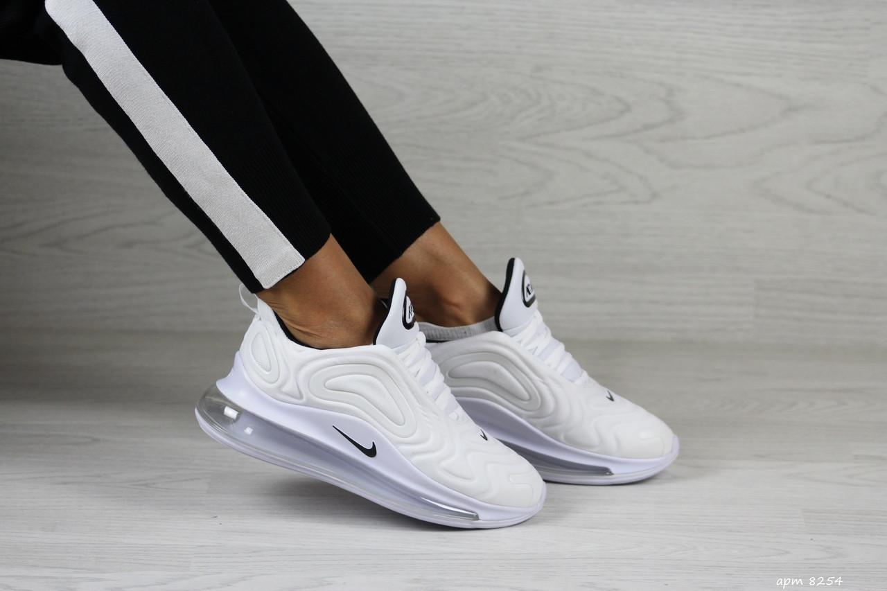 Модные женские кроссовки Nike Air Max 720, белые