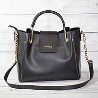 Женскаяmini сумка Zara, Зара, черная