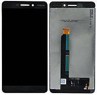 Дисплей (экран) для телефона Nokia 6.1 Dual Sim (TA-1043, TA-1050) + Touchscreen Black