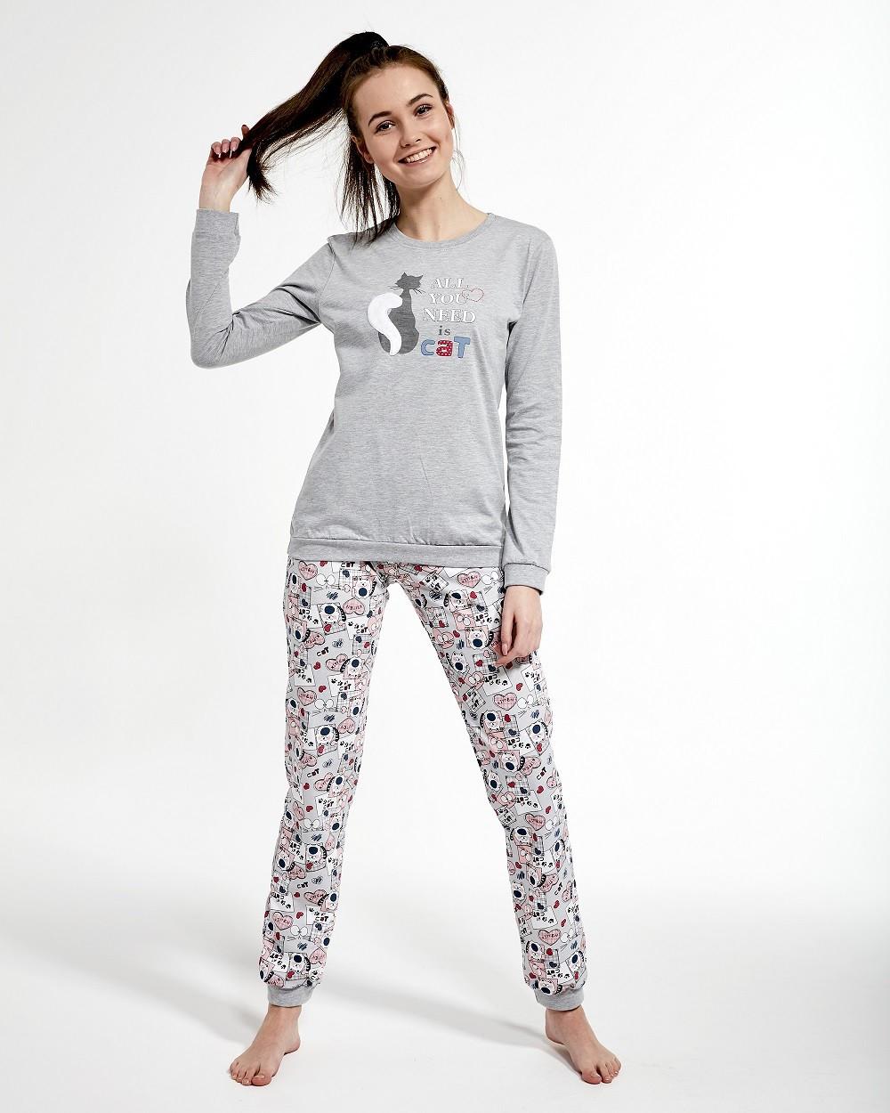 Пижама для девочки - подростка. Польша.Cornette 274/35 BLACK CAT