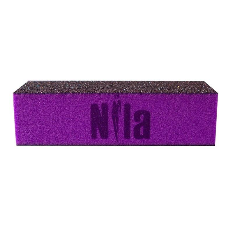 Nila Брусок шлифовочный пурпурный 80x80x80