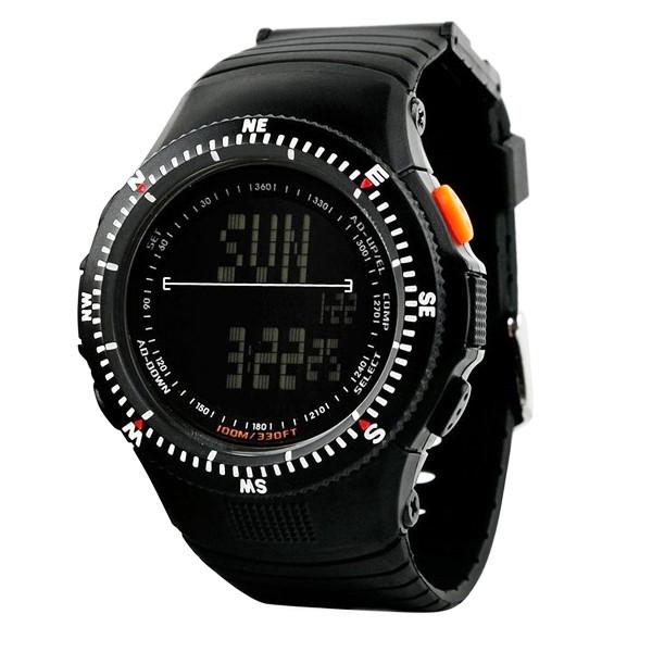 Мужские спортивные часы Skmei 0989 черные