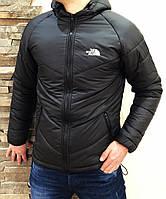 Мужская куртка осеняя черная