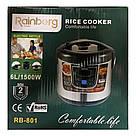 Мультиварка Rainberg | 12 программ (объём 6 литров), фото 4