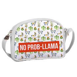 Сумка для подростков Junior girl No prob-llama (SDG_18A013_WH)
