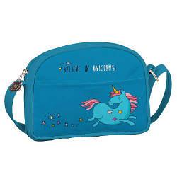 Сумка для подростков Junior girl Единорог Believe in unicorns (SDG_18A025_GOL)