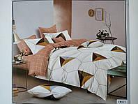 Постельное белье полисатин двуспальный евро ELWAY EW077