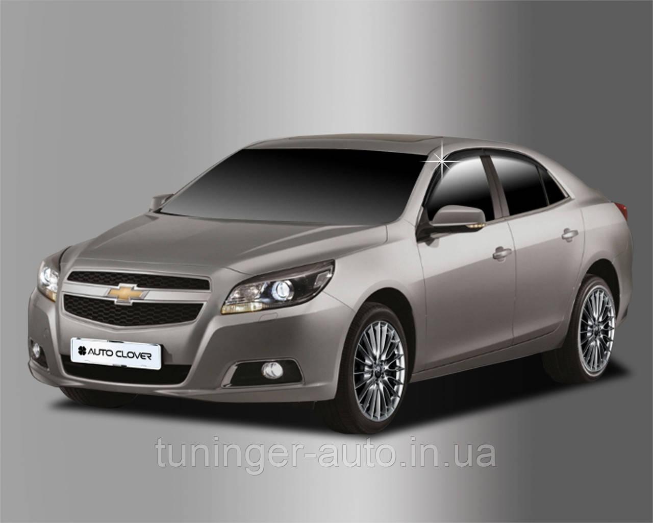 Ветровики, дефлекторы окон Chevrolet Malibu 2011-2015 A142