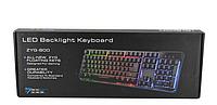 Клавиатура с цветной подсветкой UKC ZYG800