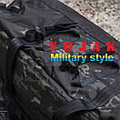 "Баул-рюкзак армейский 80л. ""Кочевник"" MULTICAM BLACK, фото 4"