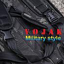 "Баул-рюкзак армейский 80л. ""Кочевник"" MULTICAM BLACK, фото 6"