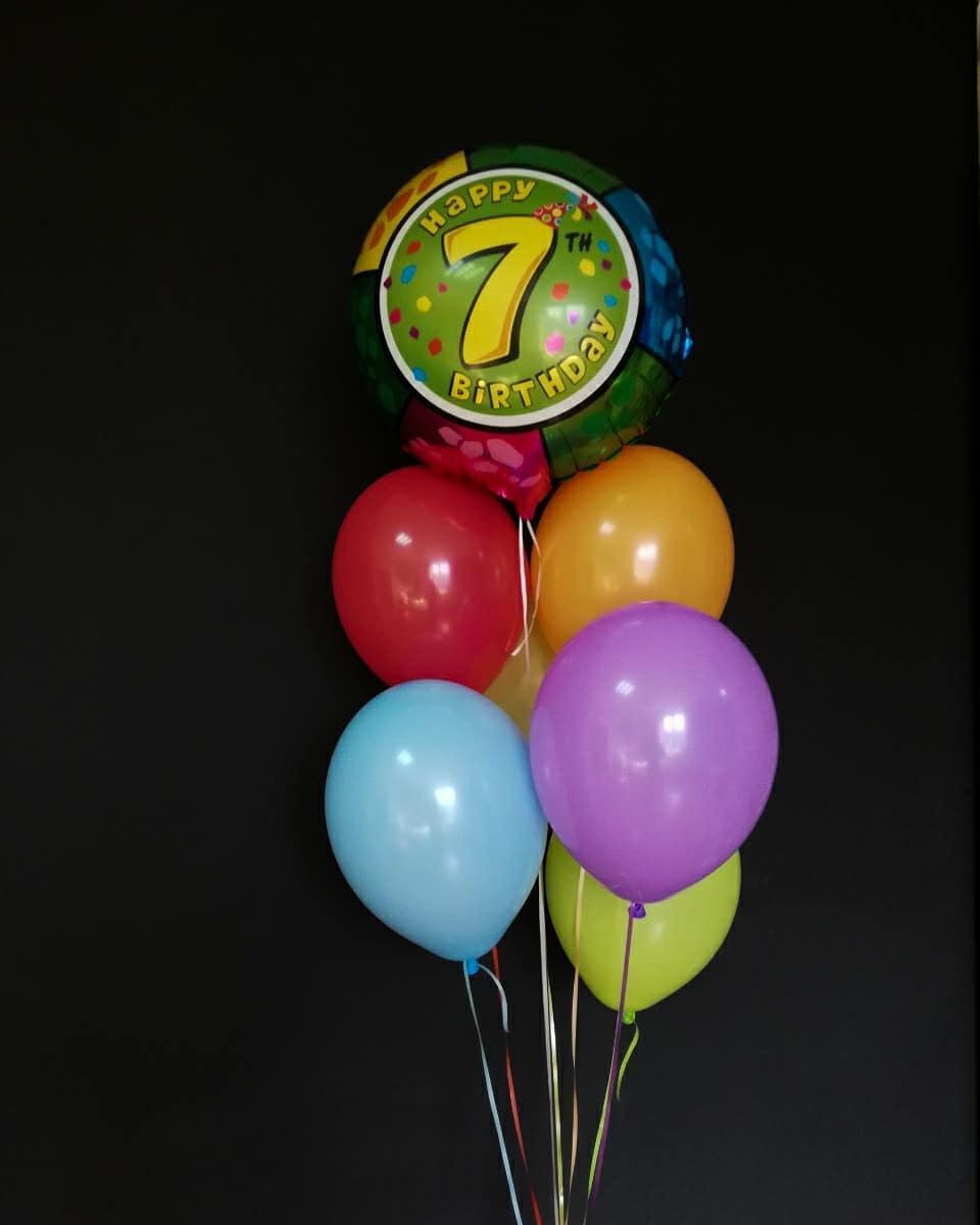 Гелеві кульки на день народження