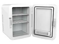 Минихолодильник для хранения косметики для лекарств Мини холодильник 2-в-1 Холодильник +Нагреватель объем 10 л