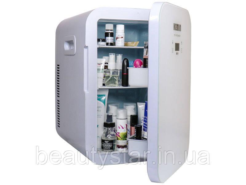Міні - холодильник для косметики мод. 20L, об'єм 20 л 2в1 нагрівач +холодильник для зберігання косметики