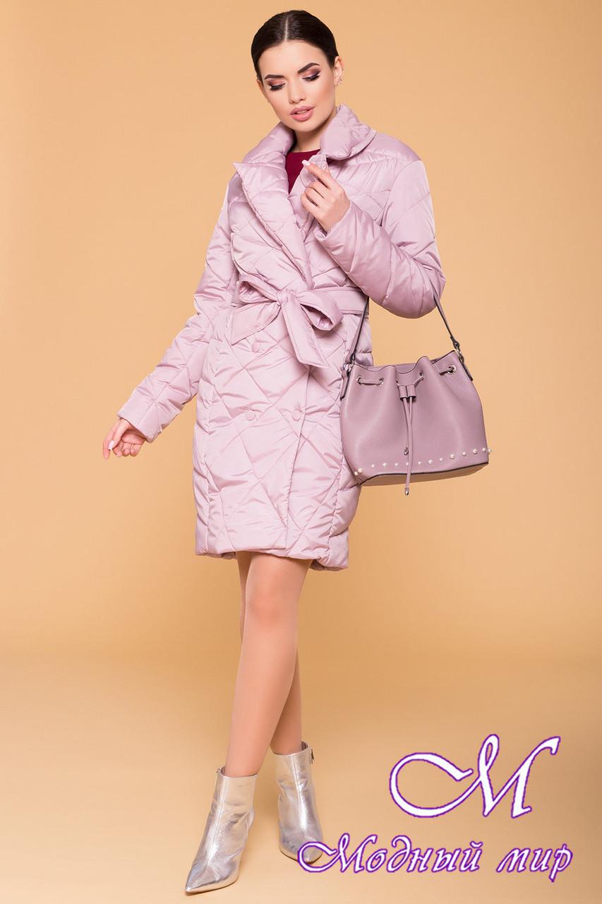 Жіноча демісезонна куртка подовжена (р. S, M, L) арт. Сандра 6422 - 41357