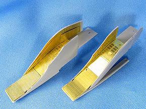 Набор фототравления для деталировки модели самолета МиГ-25. 1/72 METALLIC DETAILS MD7211, фото 2