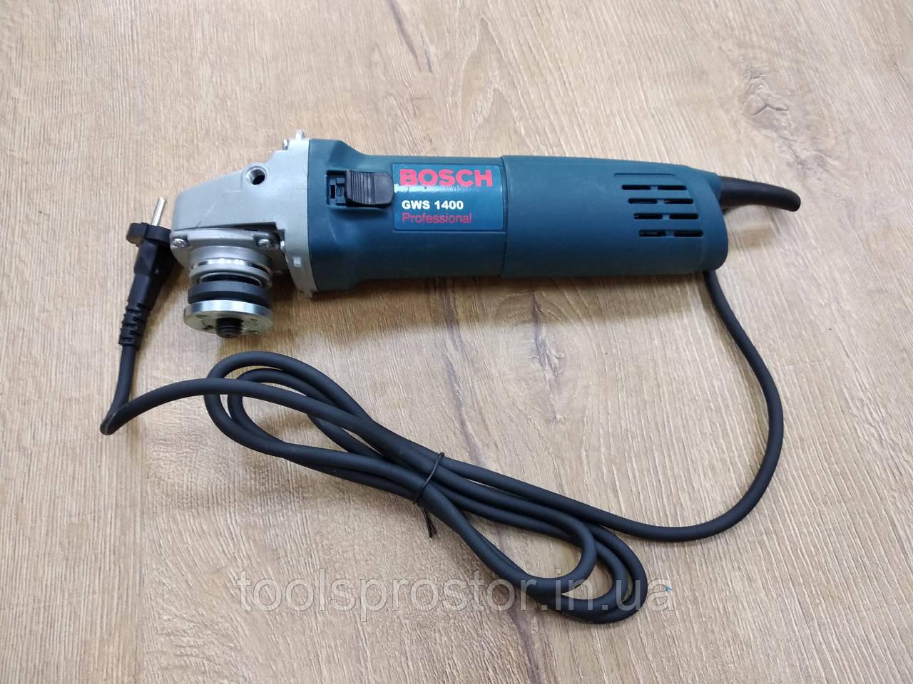 Болгарка Бош - BOSCH GWS1400 : 1.4 кВт | Гарантия 1 год