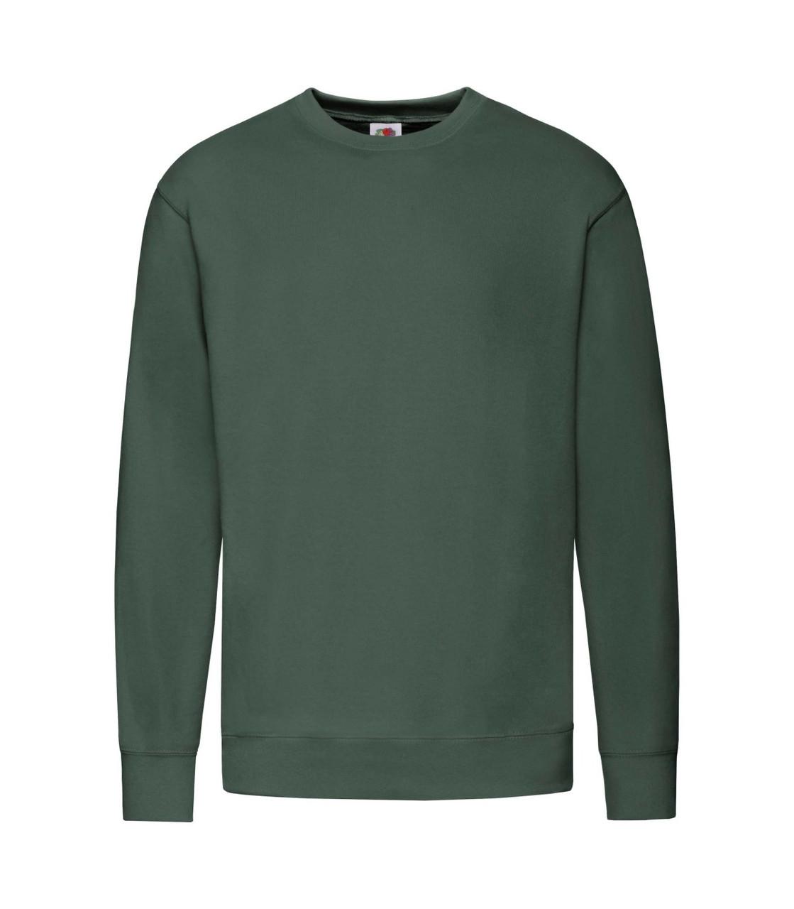 Мужской свитер легкий темно-зеленый 156-38