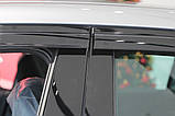Вітровики, дефлектори вікон Honda Accord 2012-2014 (Autoclover) A162, фото 6