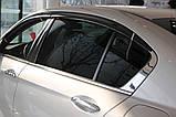 Вітровики, дефлектори вікон Honda Accord 2012-2014 (Autoclover) A162, фото 7