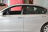 Вітровики, дефлектори вікон Honda Accord 2012-2014 (Autoclover) A162, фото 9