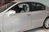 Вітровики, дефлектори вікон Honda Accord 2012-2014 (Autoclover) A162, фото 10