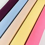 Лоскут поплина цвет ежевичный №68-1380, фото 3