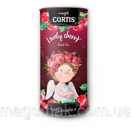 Чай черный Curtis Lovely Cherry 80г, фото 2