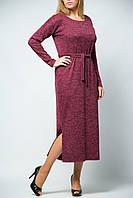 Платье женское с длинным рукавом ниже колен от бренда Adele Leroy