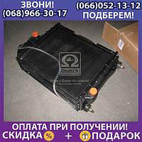 Радиатор водяного охлаждения МТЗ с двигатель Д-240 (5-х рядн.) медн. (арт. 70У.1301.010-02С)