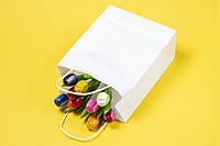 Бумажный пакет с кручеными ручками 170 мм*90 мм*230 мм