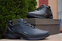 Кроссовки Ecco Biom мужские, черные, в стиле Экко Биом, натуральная кожа, код OD-1860
