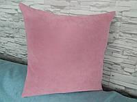 Наволочка декоративная 40х40 розовая, фото 1