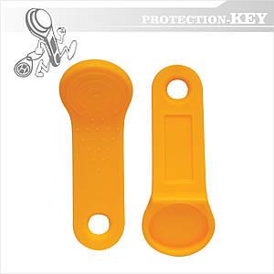 Держатель таблеток контактного ключа (TM) №1 Ø17 мм Оранжевый