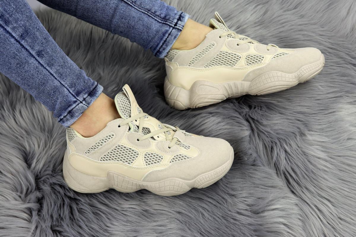 Женские бежевые кроссовки Cameron 1175