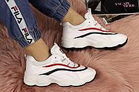 Женские белые кроссовки Flop 1134