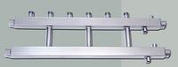 Распределительный коллектор на 3 выхода вверх HidroMix