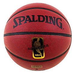 Мяч баскетбольный №7 Spalding NBA AuthenticDavidSpein